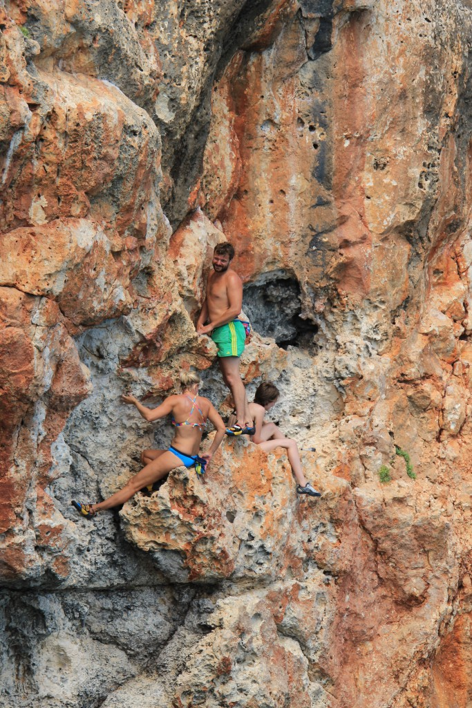 DWS in Cala Barques 'Easy Way down'