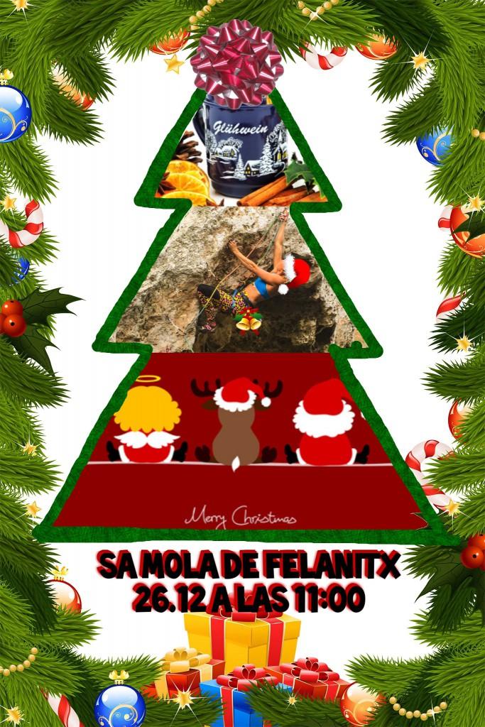 Weihnachtsklettern in Sa Mola