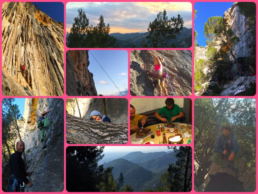 Kletterausflug nach Alaro