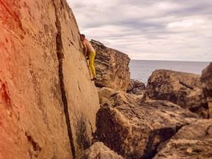 Bouldern in Torre den Beu