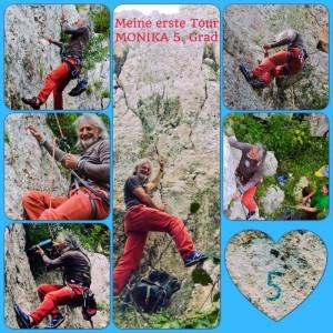 Reinhold erste selbstgebohrte Tour