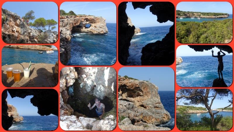 DWS und Höhle in Cala Sa Nau