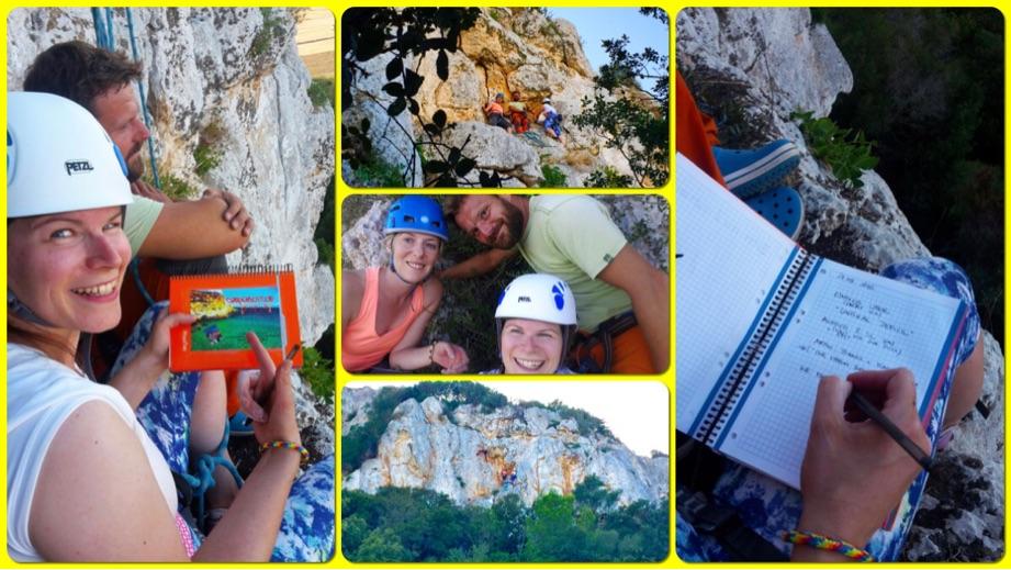 Gipfelbuch in Sa Mola de Felantix